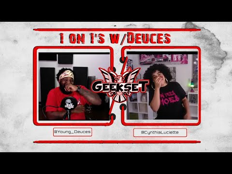 Cynthia Luciette talks being an Alpha business woman, dating & more   Sn 2 Ep 8   1 on 1's w/Deuces