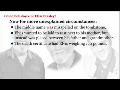 Elvis Bob Joyce What truly happened