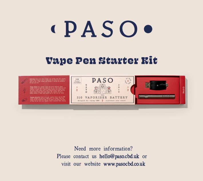 The Perfect Vape Pen Starter Kit for CBD in the UK