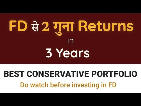 Best Mutual Funds for Beginners | Conservative Portfolio | Low Risk Funds | Best Investment Ideas