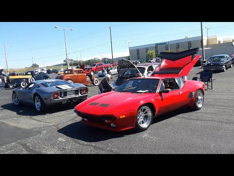 2006 Ford GT and 1986 Pantera GT5 S Exotic Ford Power At the 2020 Chariots Of Fire Car Show