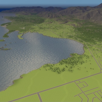Nelson–Stoke–Richmond simulation maps for Cities: Skylines