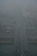 Η ομίχλη σκέπασε την πόλη...