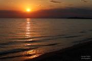Ηλιοβασίλεμα στο Θρακικό πέλαγος