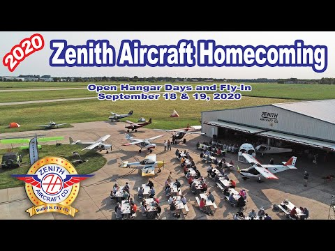 2020 Zenith Aircraft Homecoming: Views from above
