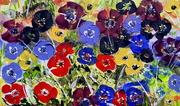 Jeté floral 8 08 20 55 cm x 33 cm