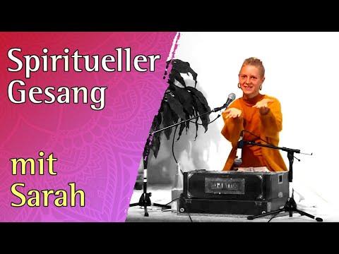 Spiritual singing - meditative concert with Sarah