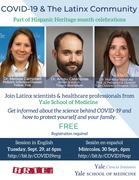 "Yale SOM / Yale Ciencia Initiative / ARTE Inc. present ""COVID-19 and Our Community"""