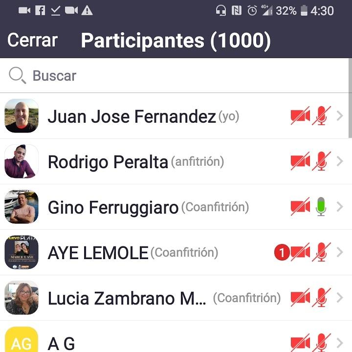 1000 participantes En El Zoom De Ganancias Deportivas