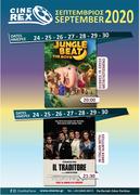 Cine Rex - September Program