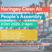Haringey Clean Air People's Assembly