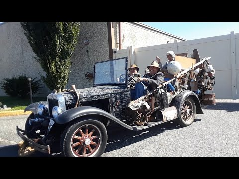 Rats Rods and Trucks With Jed and Granny, Too! Seen At the 2020 Chariots Of Fire Car Show