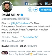 Shout Out To...David Miller Right This Minute (TV Show) #LetsWork  #Collab   #YoungGifted  #DavidMiller ... https://www.facebook.com/136292470368921/posts/614780335853463/
