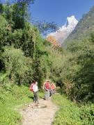 annapurna base camp trekking trail