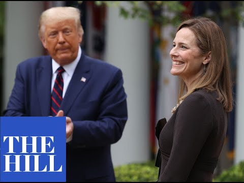 WATCH: Amy Coney Barrett's full speech after Supreme Court nomination