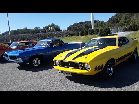 4 Fabulous Fords  Ranchero, Mach 1, Thunderbird and a Gasser Falcon! 2020 Chariots Of Fire Car Show