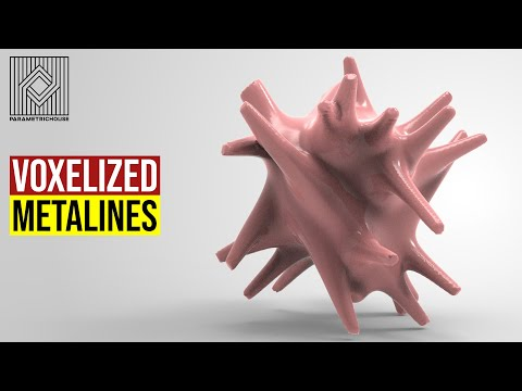 Voxelized Metalines