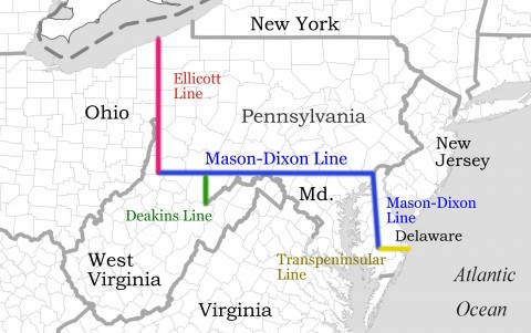 Mason Dixon Line Land Surveying