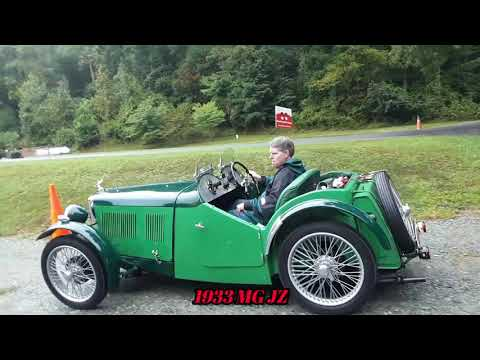 MG TC, MG TD, MG TF and MG JZ Grace the Field of the 2020 41st Annual MGs On the Rocks
