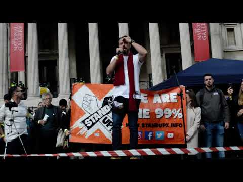 Gareth Icke Speech For Save Our Rights