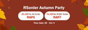 Only One Day Left! Quickly Enjoy RSorder Autumn Party 7% Off RSGold