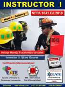 Curso Internacional INSTRUCTOR Nivel I Bajo la Norma NFPA 1041 Ed. 2019
