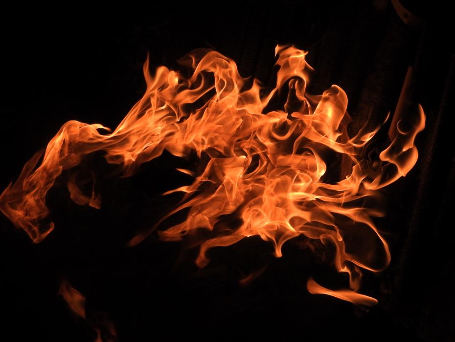 Langage du feu - arabesques