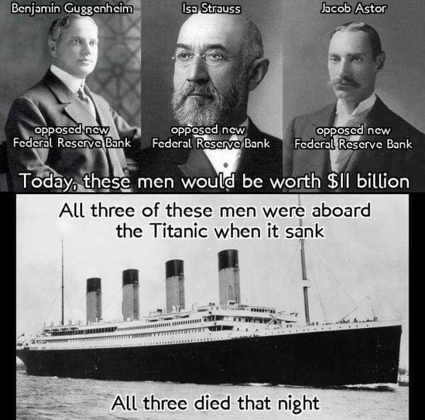 Sunk with the Titanic