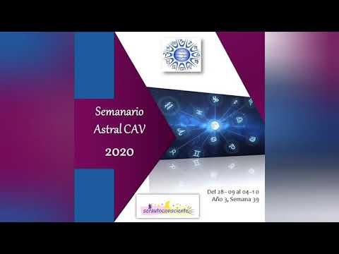 Semanario Astral CAV 2020 Semana 39