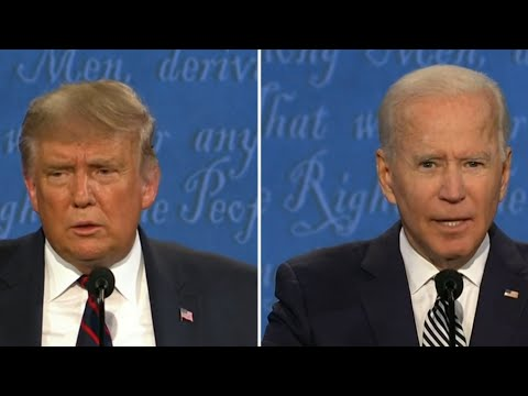 President Trump and Joe Biden clash in first presidential debate