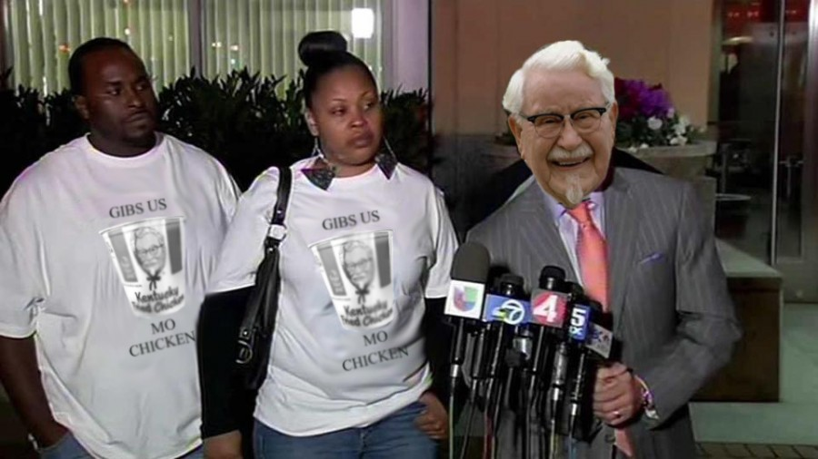 KFC gives in to the demands of BLM