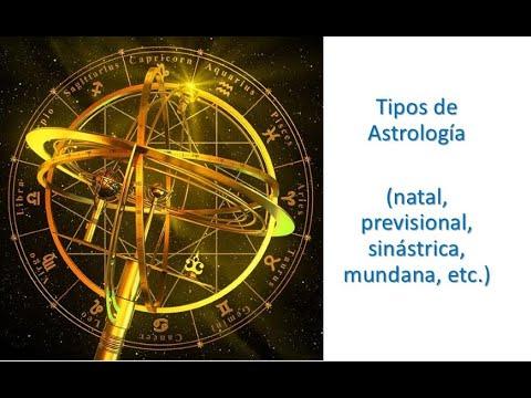 01. TIPOS DE ASTROLOGÍA
