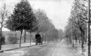 Priory Road towards the foot of Muswell Hill, c1900