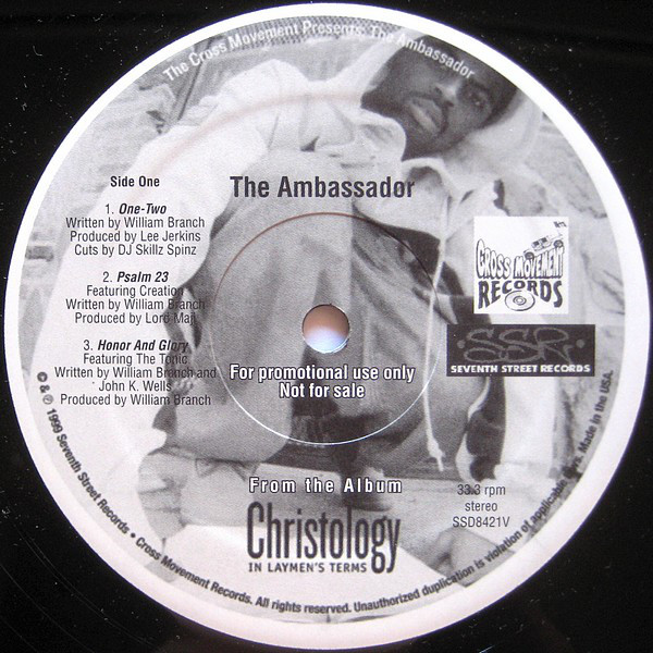 Classic Album Review: The Ambassador Christology - In Laymen's Terms