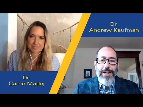 Dr. Carrie Madej with Dr. Andrew Kaufman on vaccines, hydrogel, and secret government programs