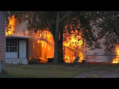 Wamac, IL House Fire