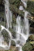 A Section of a small waterfall