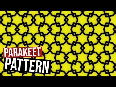 Parakeet Star Pattern I
