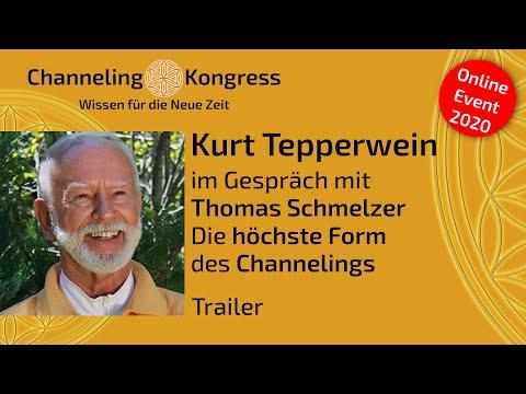 Kurt Tepperwein im Gespräch mit Thomas Schmelzer - Die HÖCHSTE FORM des CHANNELINGS - Trailer