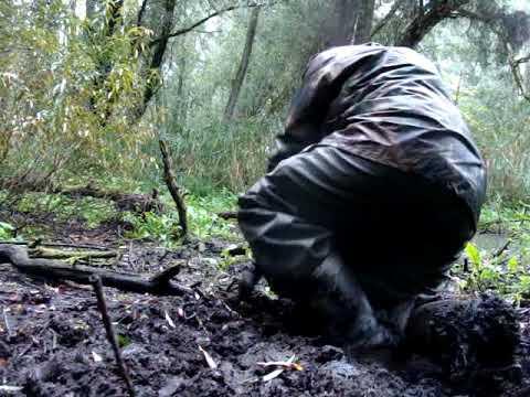 Mudding in the rain