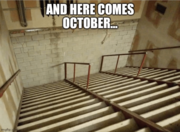 Here comes October...