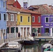 Online Paint-out for Murano/Burano, Italy. World's most colourful town