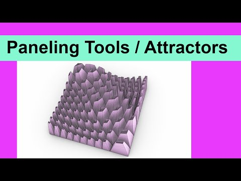 Paneling Tools / Attractors
