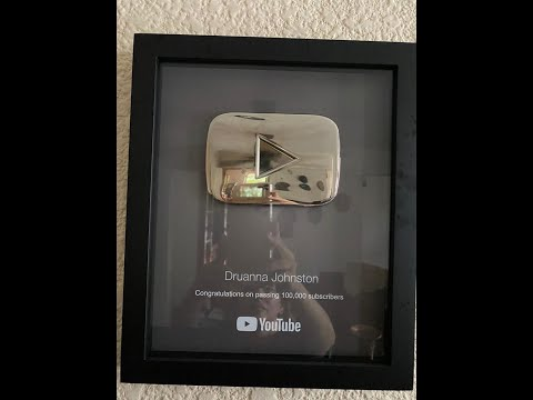 Found my Silver Button by Youtube! Awarded in 2017