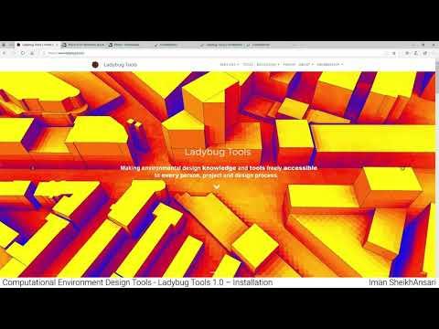 Computational Environment Design Tools - Ladybug Tools 1.0 – Installation - Iman SheikhAnsari
