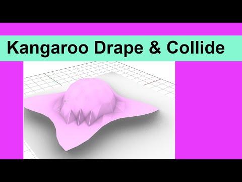 Kangaroo Drape and Collide