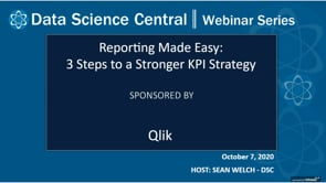 DSC Webinar Series: Reporting Made Easy: 3 Steps to a Stronger KPI Strategy