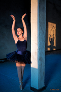 The ballerina and her shadow
