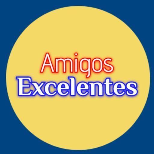 Amigos excelentes Logo