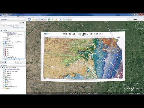 How to georeference maps in Google Earth
